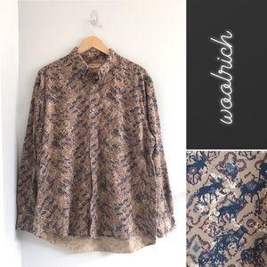 Woolrich Moose Bear Button-Down Shirt